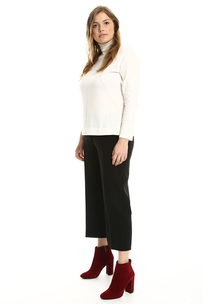 Pantaloni cropped stretch Fashion Market