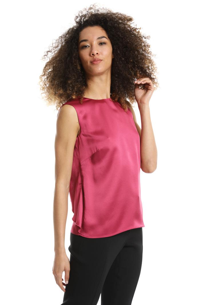 Top con scollo posteriore Fashion Market