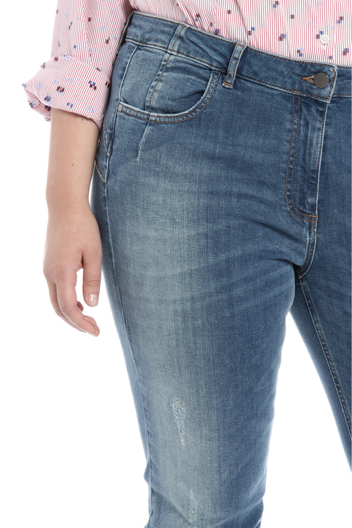 Jeans cucito a contrasto Fashion Market