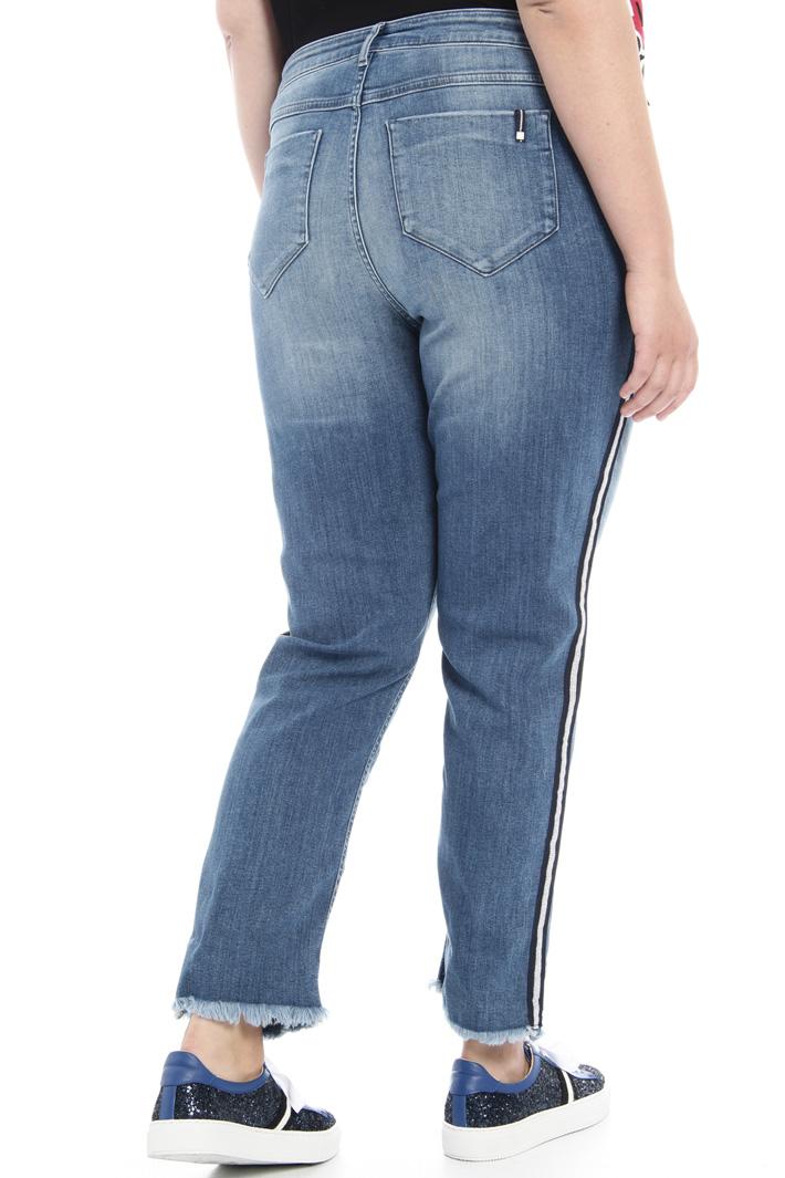 Jeans slim in denim leggero Fashion Market