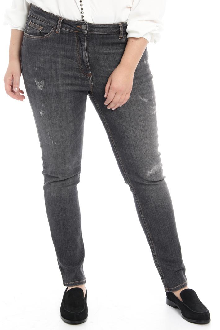 Pantalone in denim stretch Fashion Market