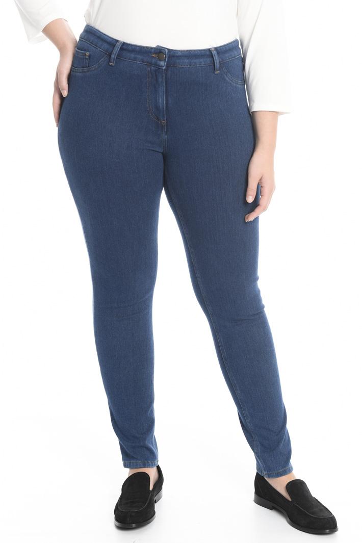 Pantalone in jersey denim Fashion Market