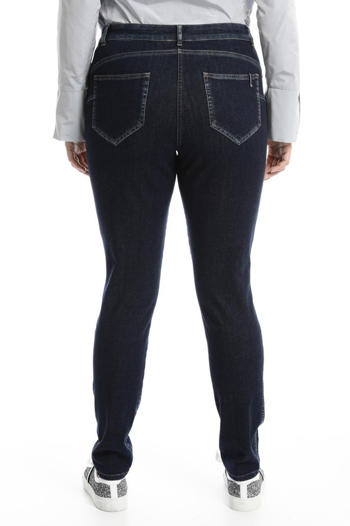 Jeans skinny in denim Fashion Market
