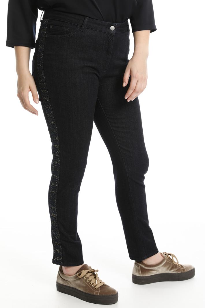 Jeans in denim  Fashion Market