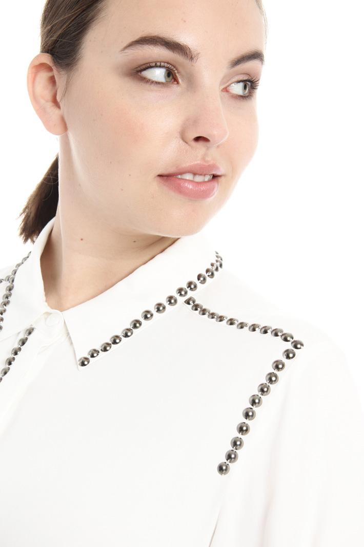 Camicia con borchie metalliche Fashion Market