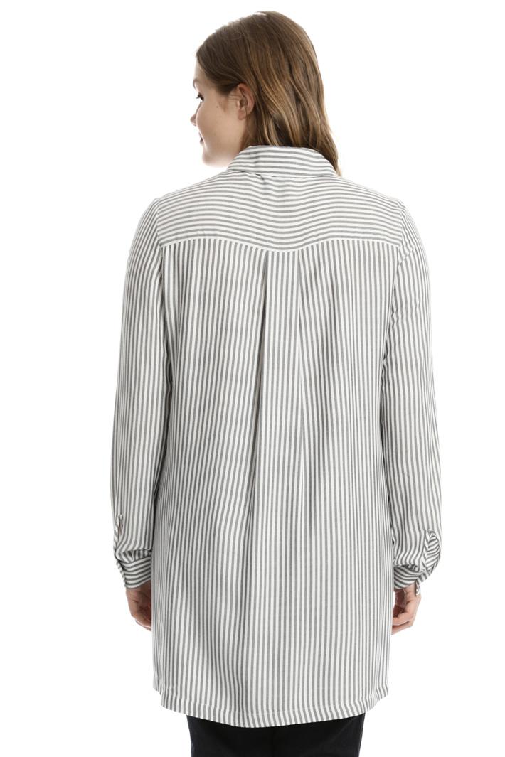 Camicia lunga in viscosa Fashion Market