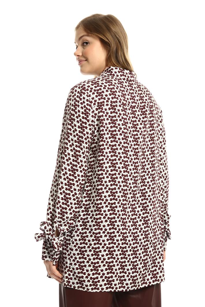 Camicia in twill di viscosa Fashion Market