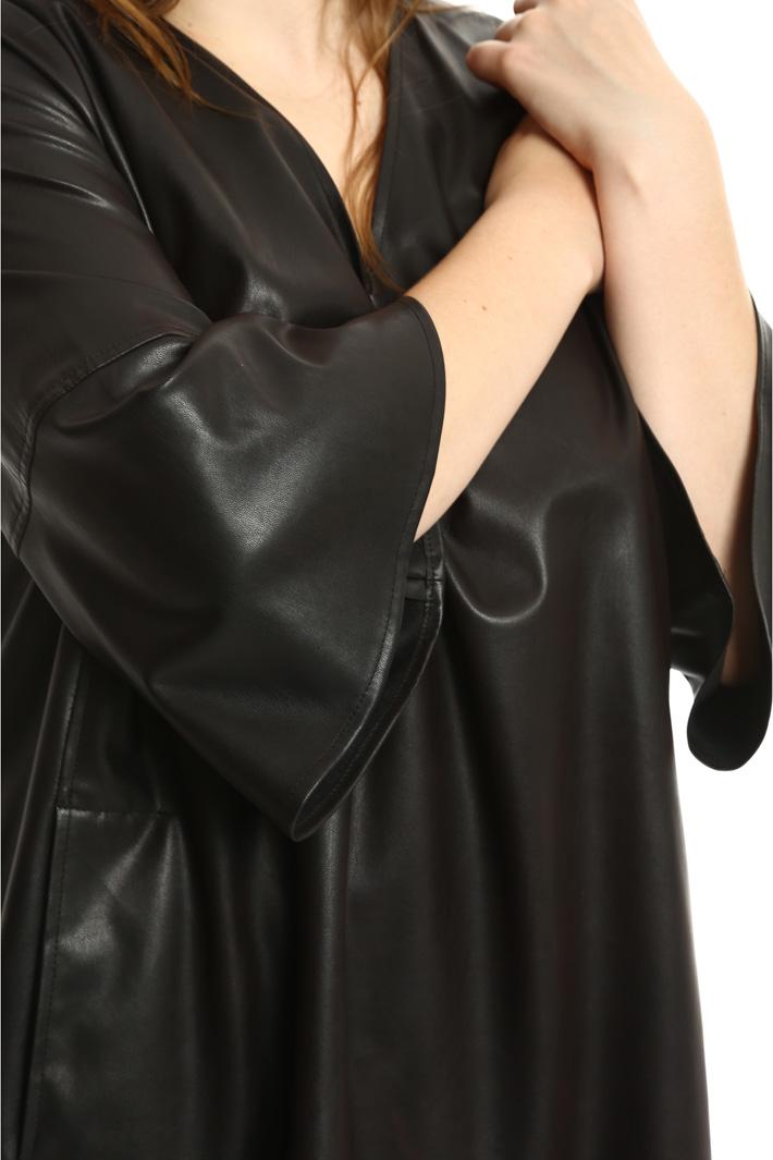 Casacca effetto spalmato Fashion Market