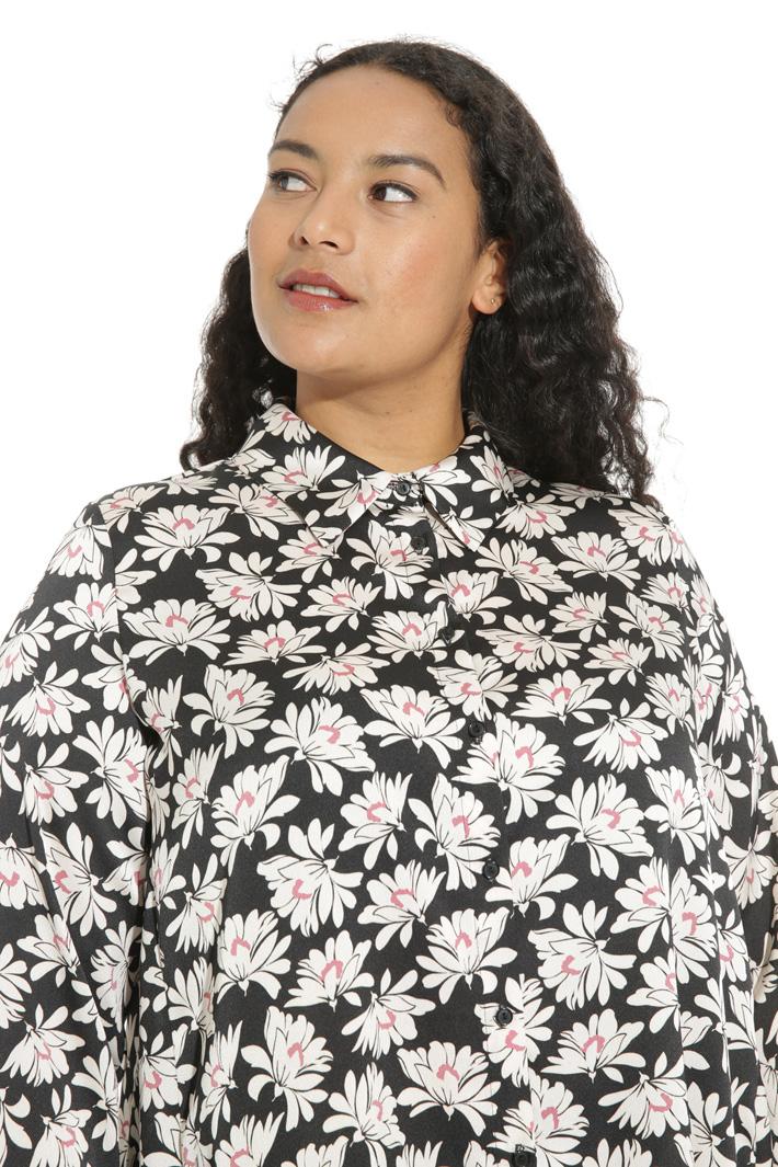 Camicia in raso martellato Fashion Market