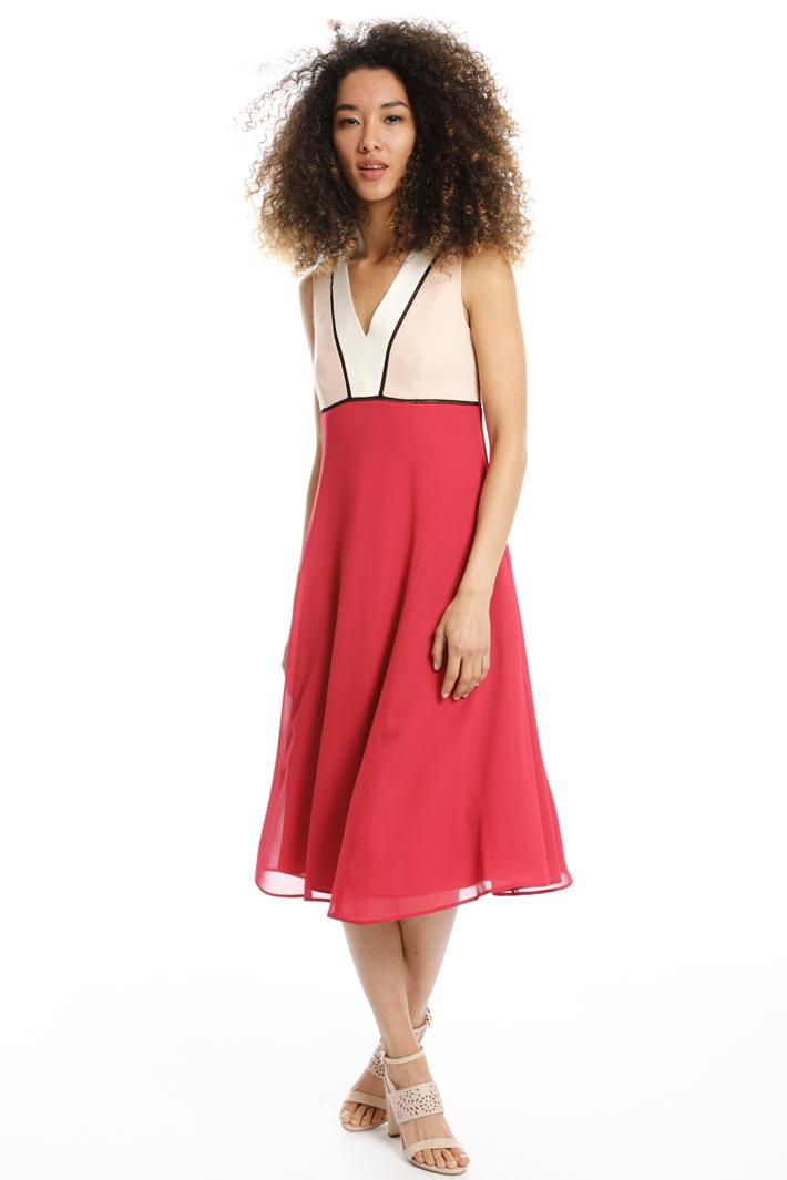 Abito longuette fluido Fashion Market