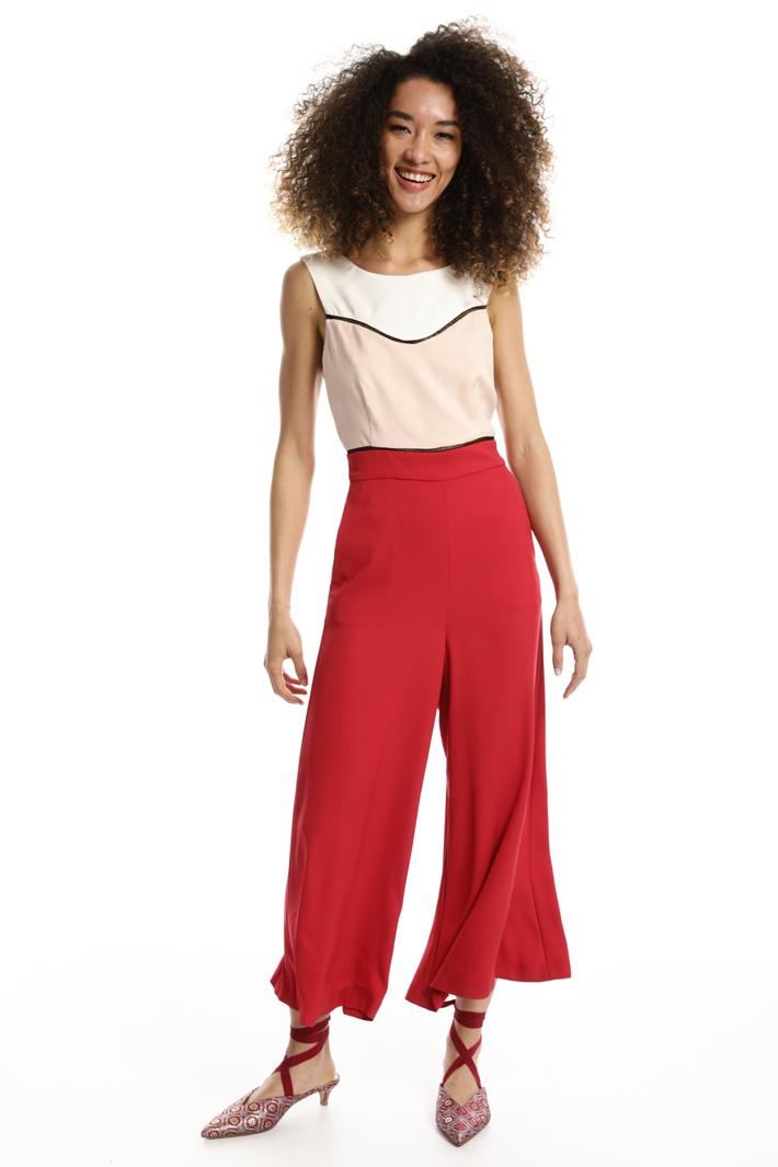 Tuta in cady stretch Fashion Market