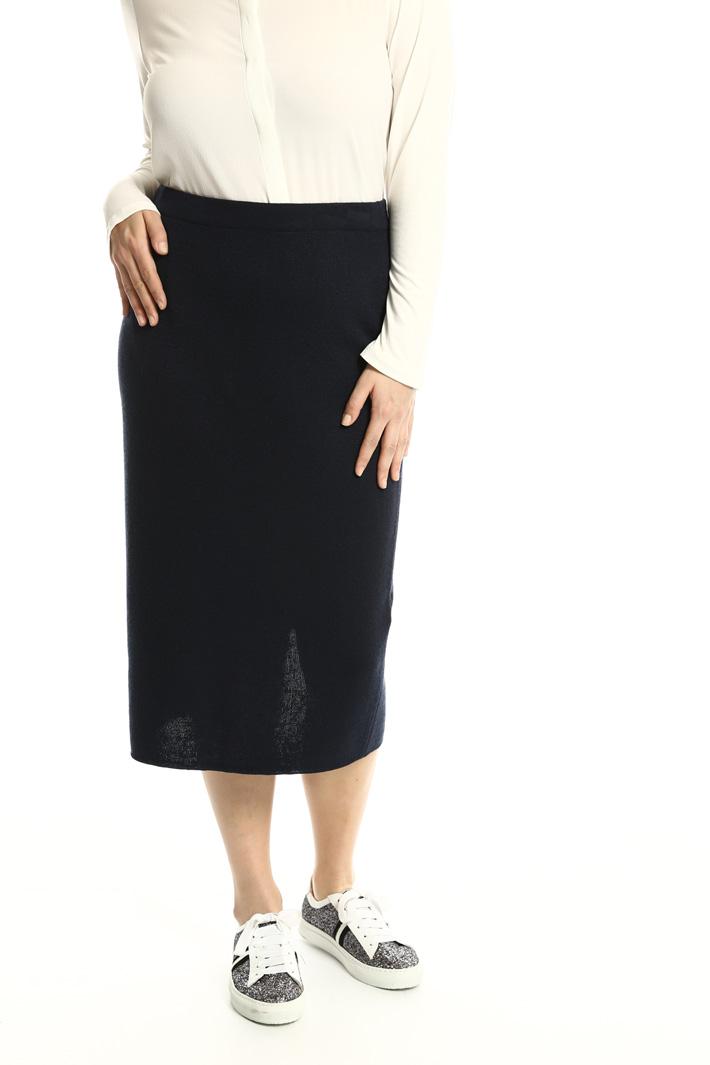 Longuette in maglia di lana Fashion Market