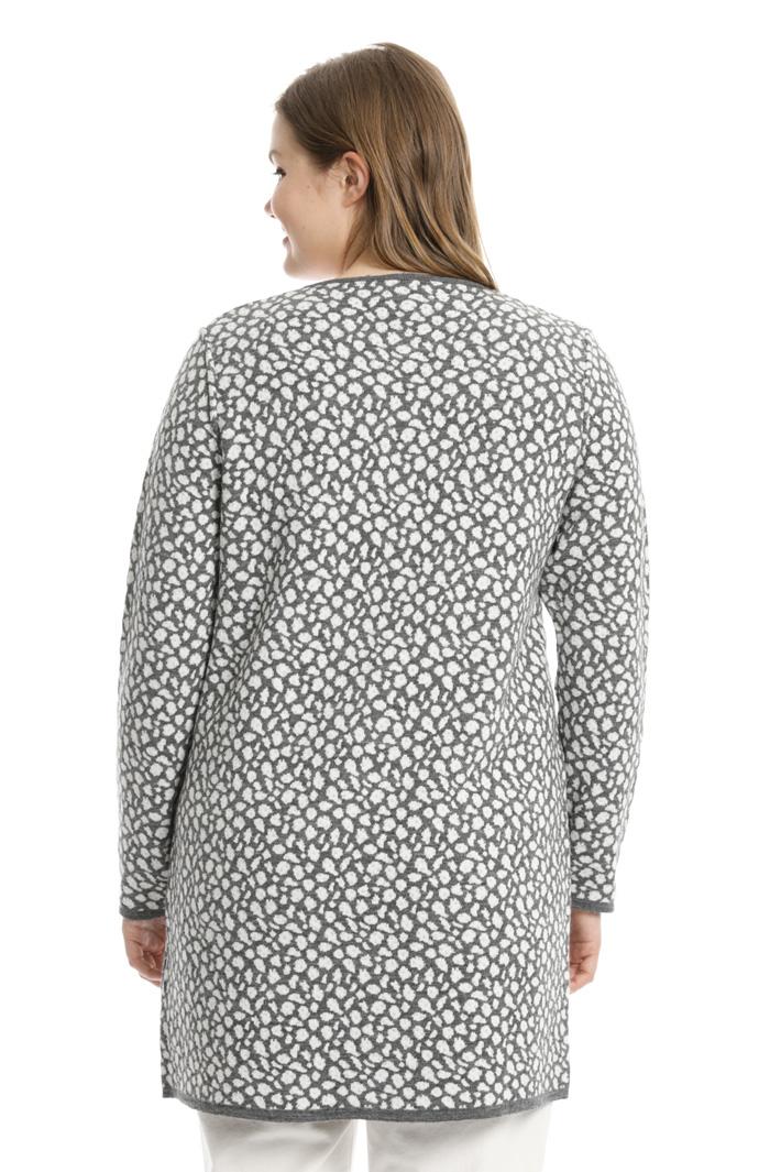 Soprabito jacquard in maglia Fashion Market