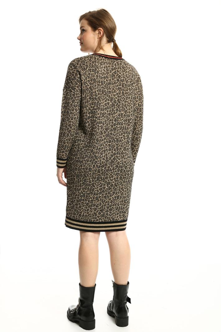 Abito in maglia jacquard Fashion Market