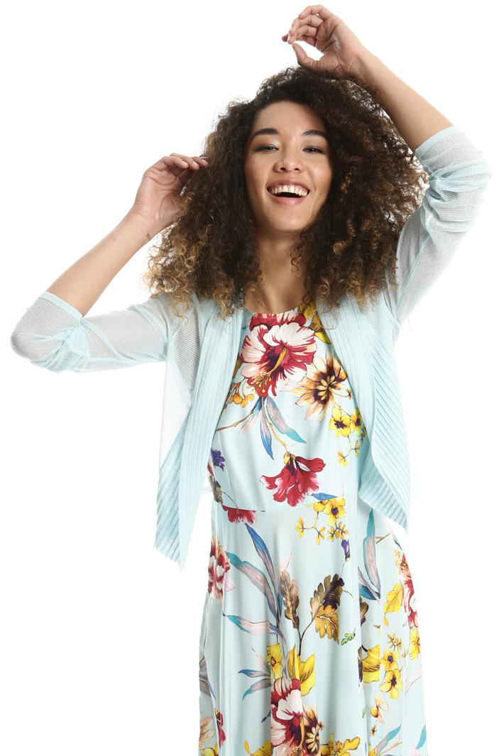 Coprispalle in maglia crepe Fashion Market