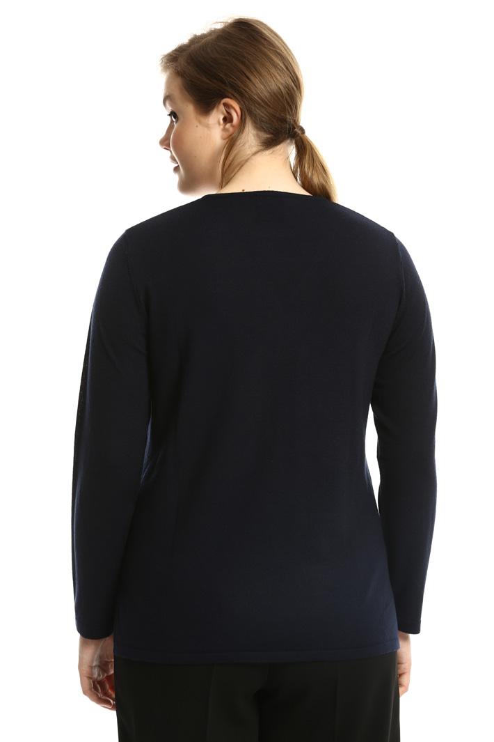 Maglia in lana con ricamo Fashion Market