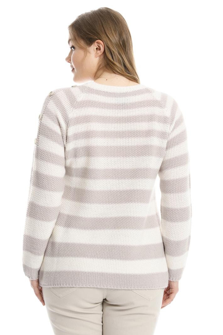 Maglia in lana a righe Fashion Market