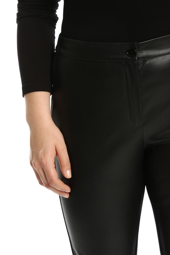 Pantaloni effetto pelle Fashion Market