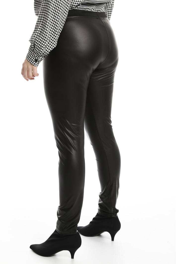 Leggings effetto pelle Fashion Market