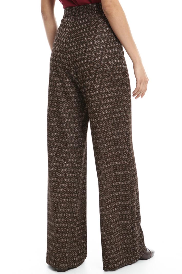 Pantalone in jersey lurex Fashion Market