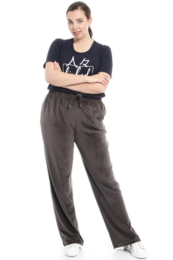 Pantaloni in ciniglia Fashion Market