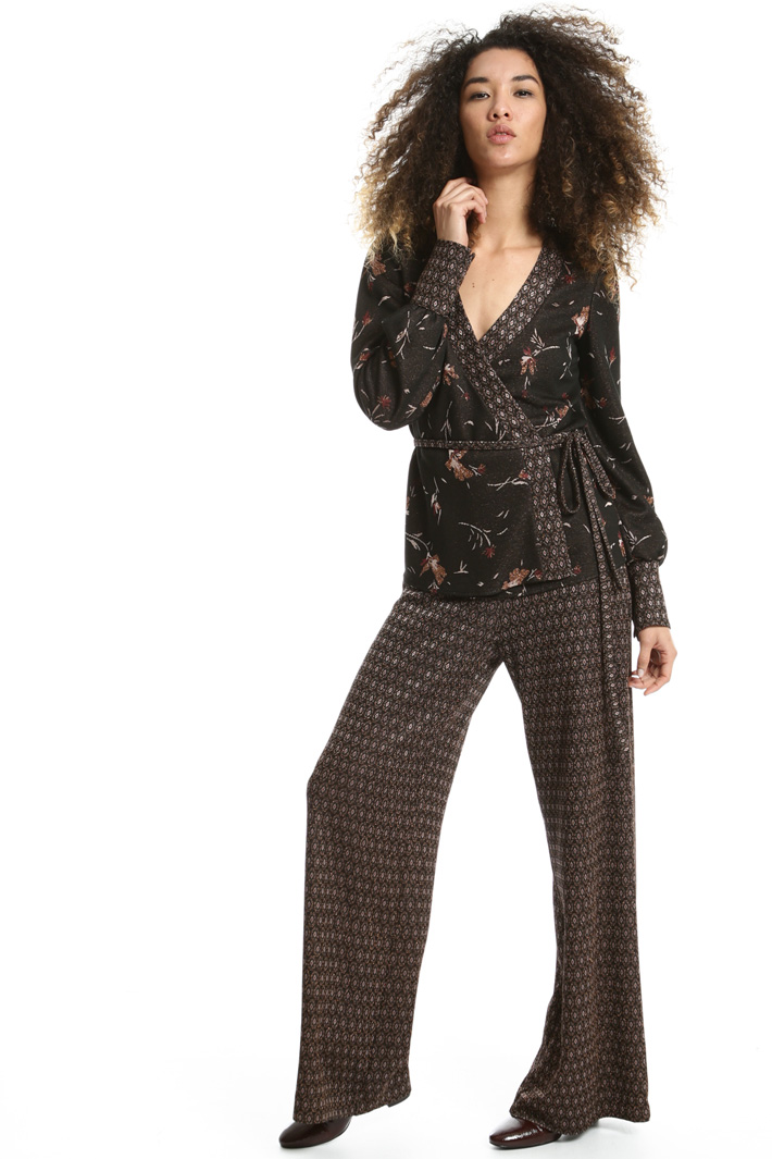 Giacca in jersey lurex Fashion Market