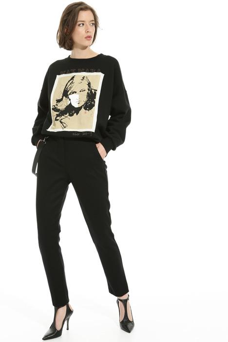 Felpa in jersey di cotone Fashion Market