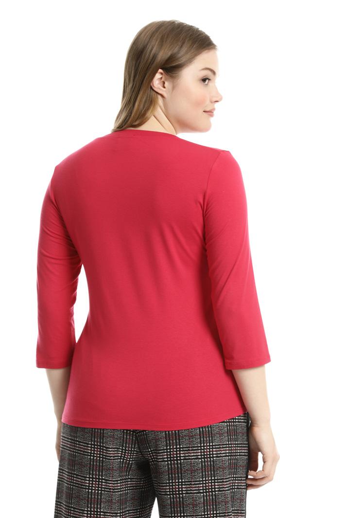 T-shirt in jersey di viscosa Fashion Market