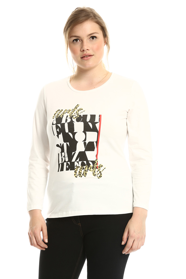 T-shirt con stampa grafica Fashion Market