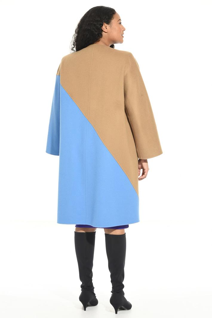 Cappotto in double di pura lana Fashion Market