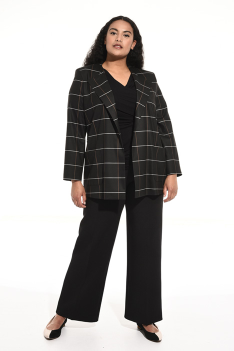 Giacca in lana jacquard Fashion Market