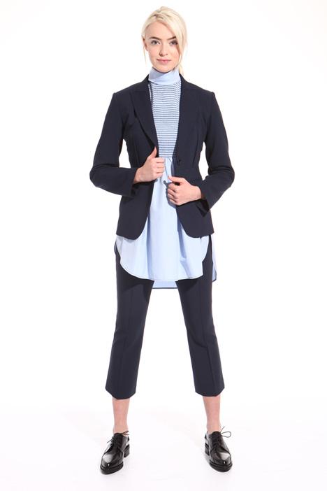 Blazer in twill di lana Fashion Market