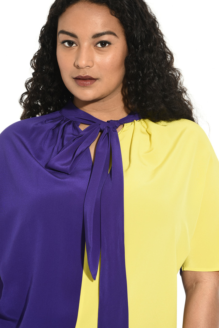 Blusa in seta Fashion Market