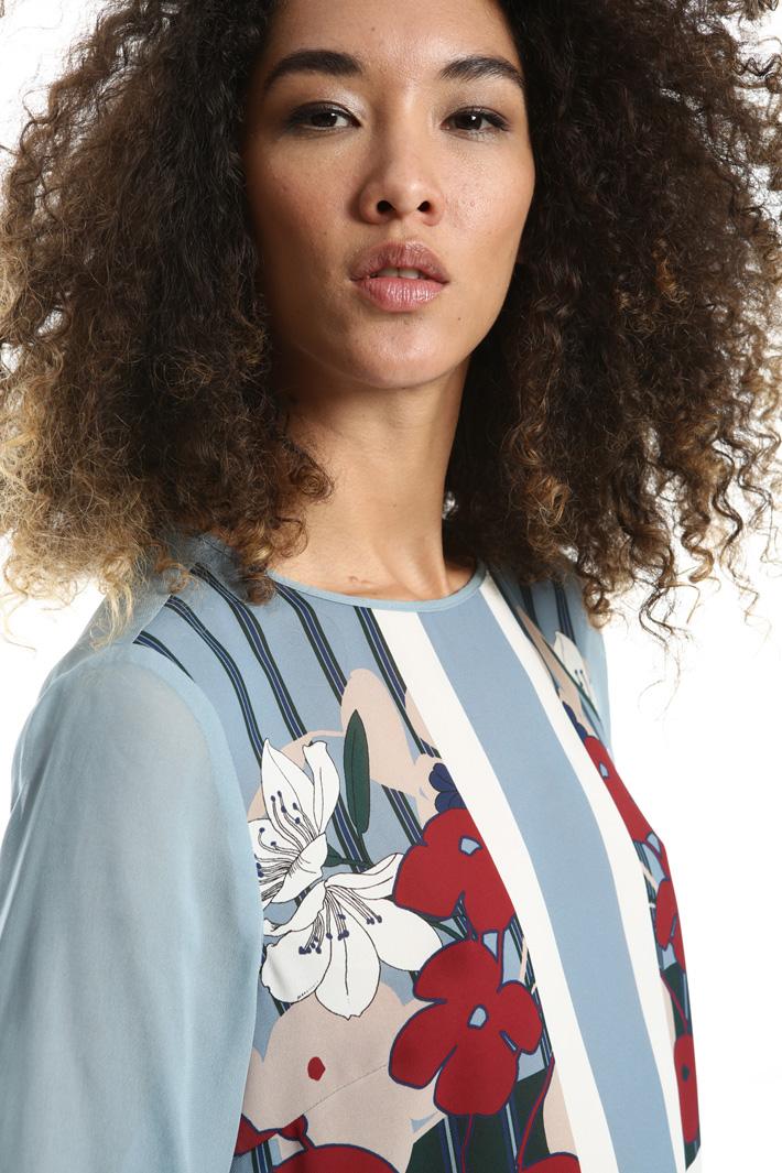 Top in doppia georgette Fashion Market