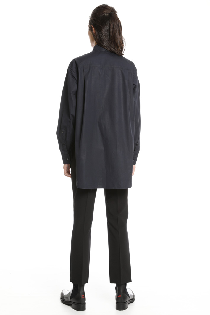Camicia oversize in cotone Fashion Market