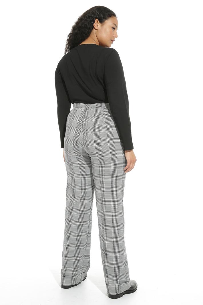 Pantalone palazzo jacquard Fashion Market