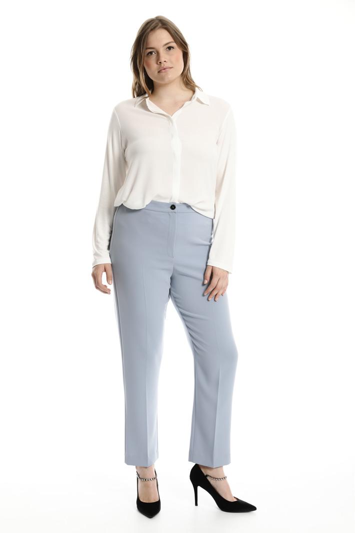 Pantaloni in triacetato Fashion Market