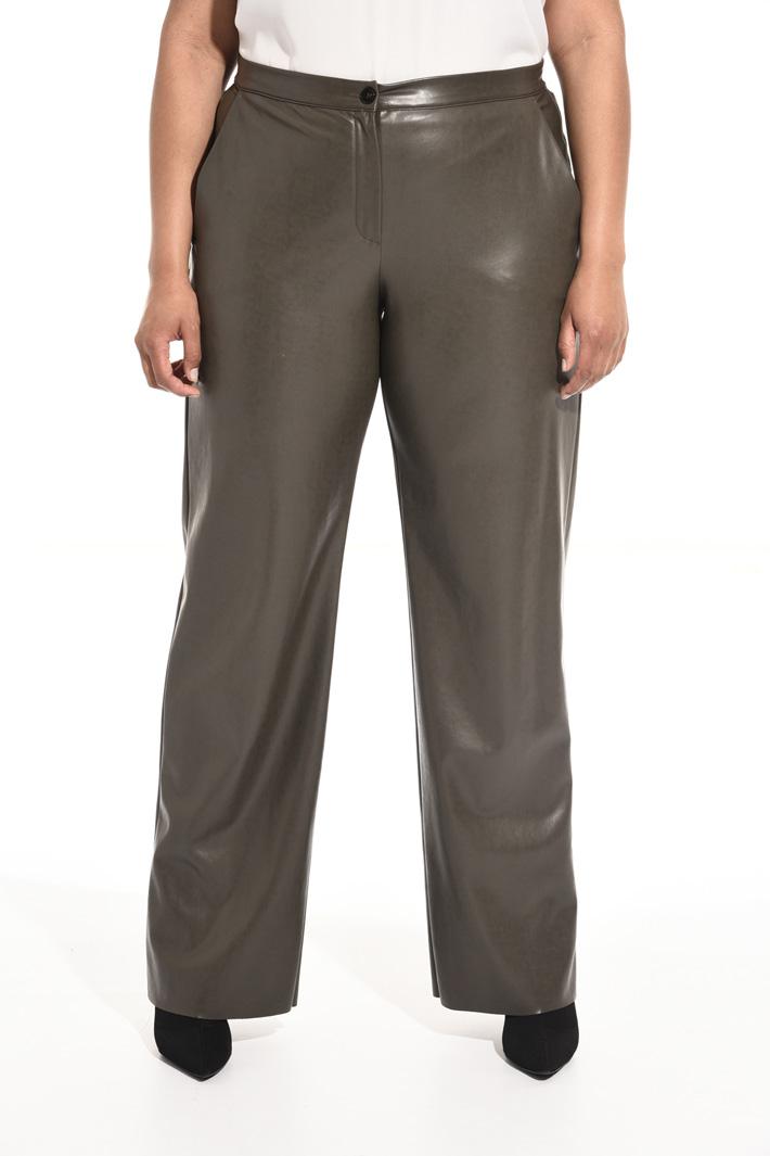 Pantaloni effetto spalmato Fashion Market