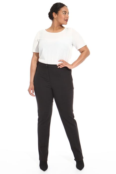 Pantaloni in double di lana  Fashion Market