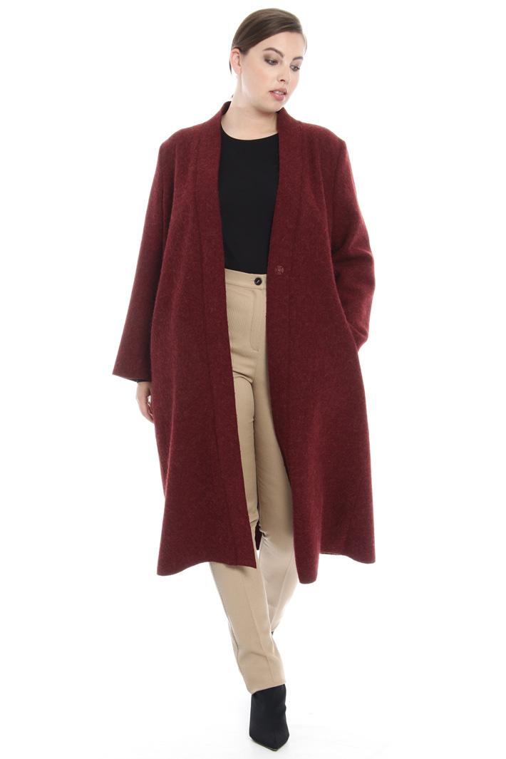 Pantaloni in viscosa e lana Fashion Market