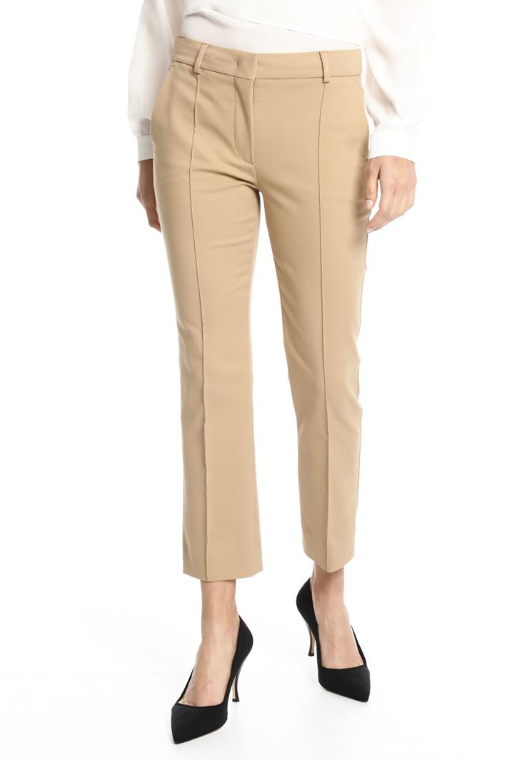 Pantalone in tela di cotone Fashion Market