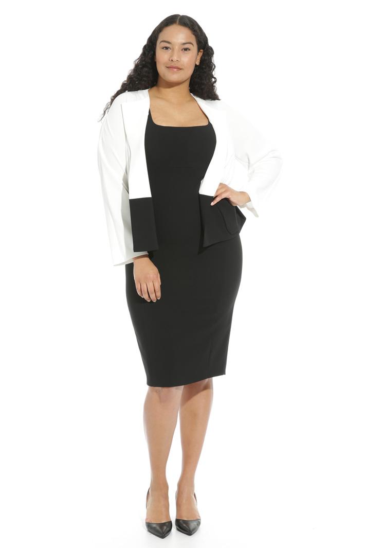 Giacca bicolor in triacetato Fashion Market