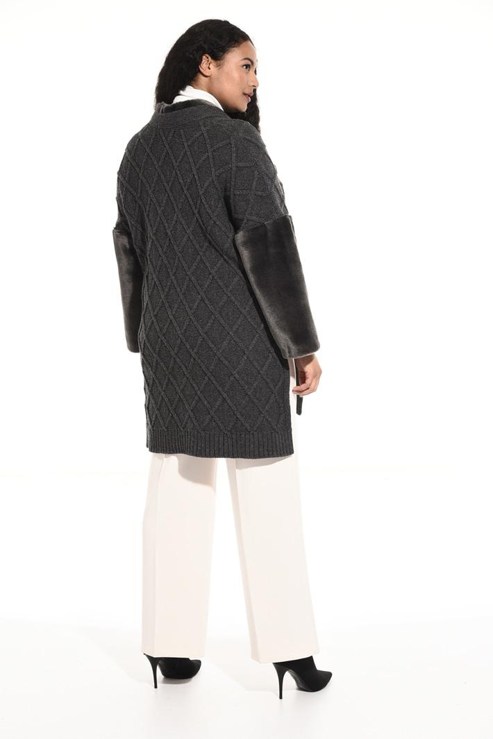 Giaccone in maglia Fashion Market