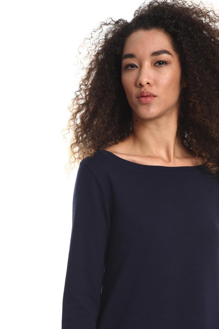 Abito in cotone e seta Fashion Market