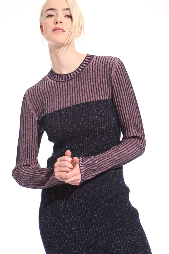 Abito in maglia lurex Fashion Market