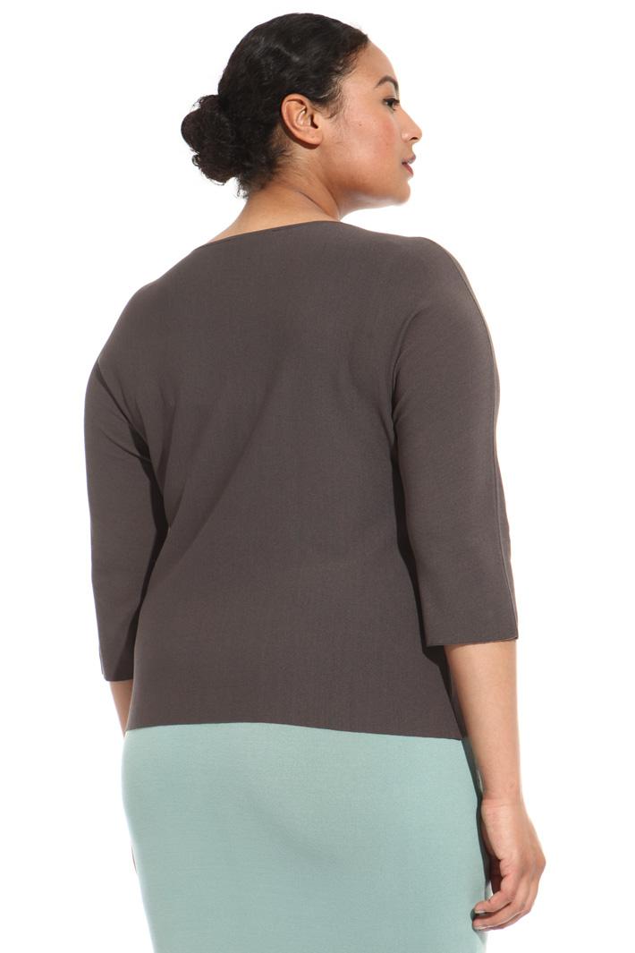 Maglia cropped in viscosa Fashion Market