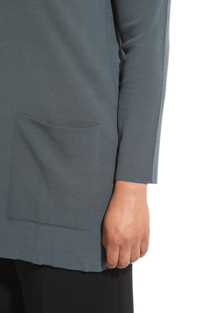 Maglia con bordi a contrasto Fashion Market