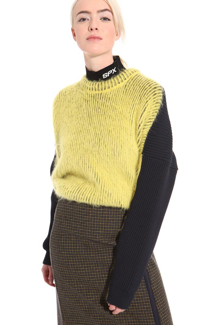 Maglia a coste in alpaca Fashion Market