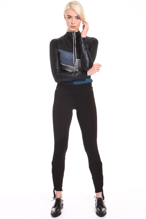Leggings con arricciature Fashion Market