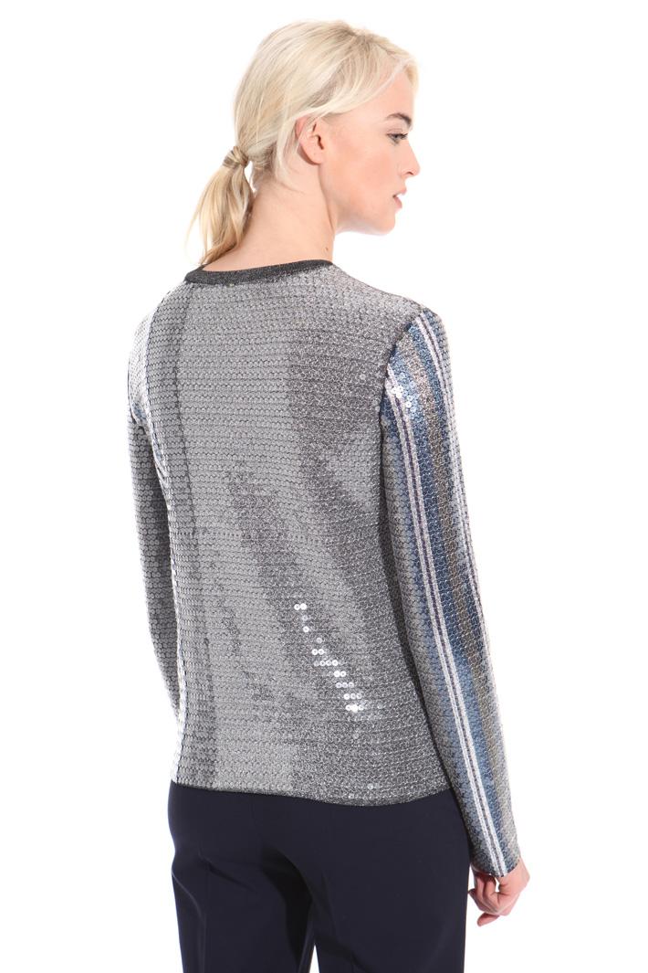 Maglia lurex con paillettes Fashion Market